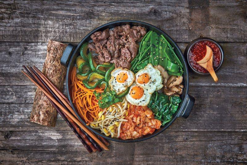 Kimchi und Bibimbap