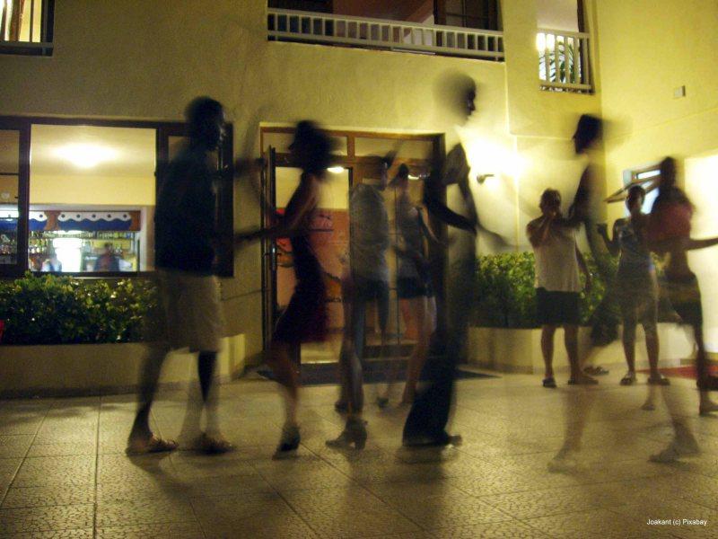 Tanz in das Wochenende