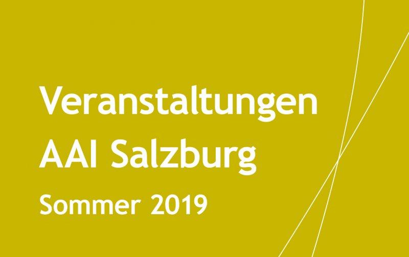 Veranstaltungen AAI Salzburg