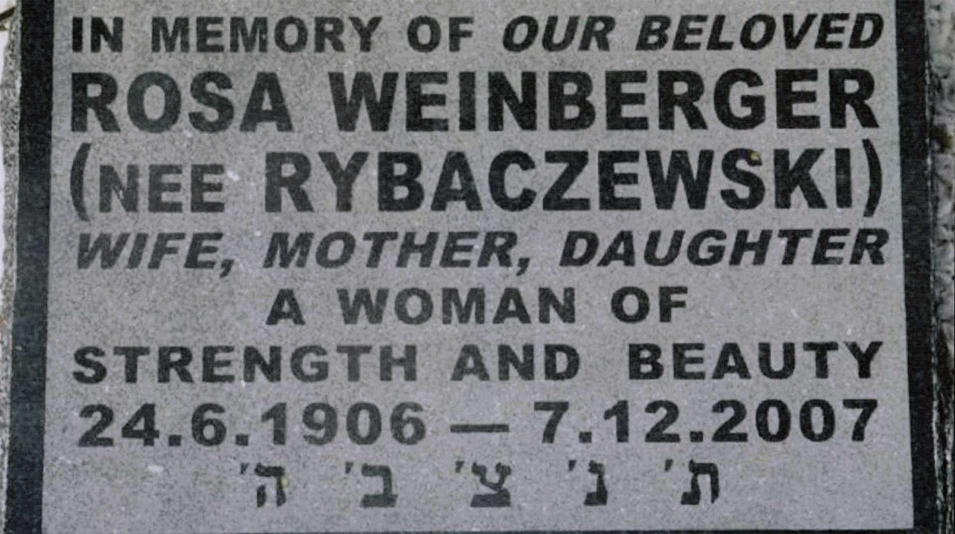 Rosa Weinberger (weinberger_04_grabstein.jpg)