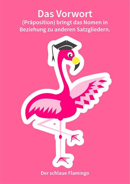 Der schlaue Flamingo - Vorwort