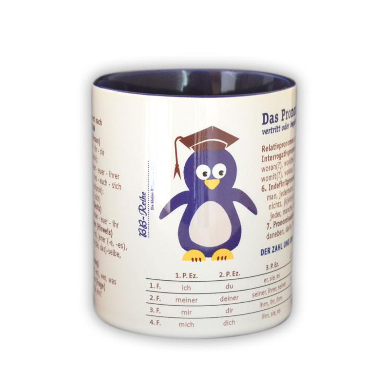 Das Pronomen: Lernen  mit dem eifrigen Pinguin